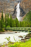 Takakkaw Falls waterfall in Yoho National Park, Canada
