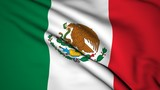 The background of the flag of Mexico video