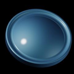 Pulsante blu - Blue button