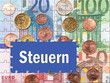 Steuern - Konzept Geld und Staat