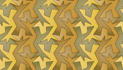 Seamless tessellated background