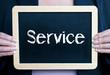 Service - Konzept Beruf und Dienstleistung
