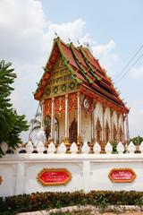 Temple, Laos.