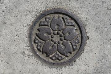 Tokyo drainage sign