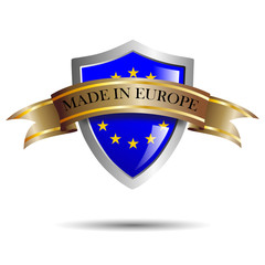 Shield made in Europe