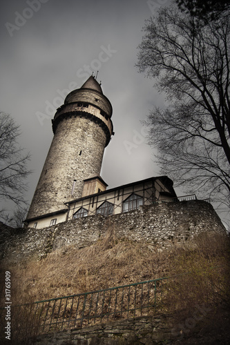 Scary castle tower