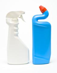 Envases de limpieza, en plástico