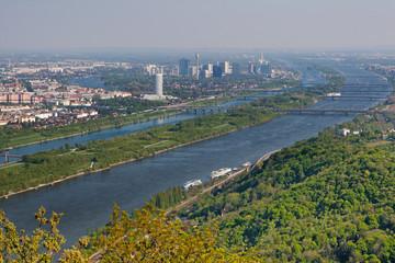 Wien an der Donau