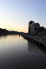 Monongahela River in Pittsburgh