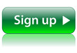 SIGN UP Web Button (user account register subscribe click here)