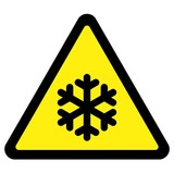 Cold Warning Sign