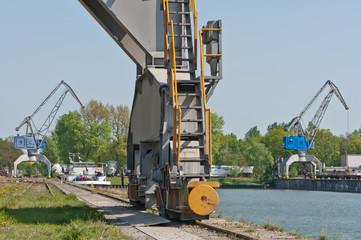 Kräne - Hafenanlage