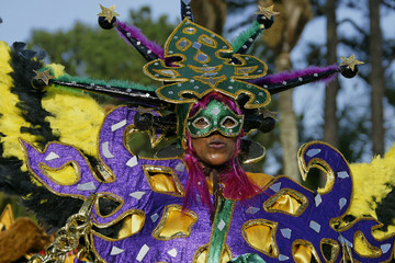 Grande parade du carnaval de Guyane