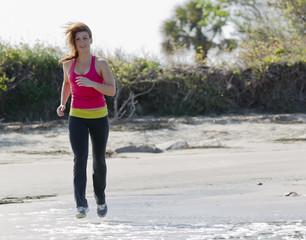 Brunette Fitness Jogger