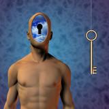 Human Key poster