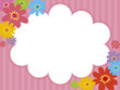 クレヨンの花 フレーム