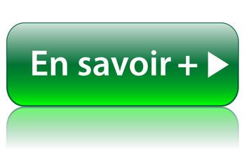 """Bouton Web """"EN SAVOIR PLUS"""" (informations à propos aide liens)"""