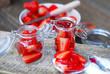 marmelade - erdbeeren