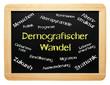 Demografischer Wandel - Konzept Tafel