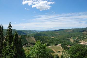 Tuscany (Italy). Landscape.