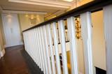 handrail in modern home poster