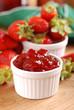 confettura di fragole - cinque