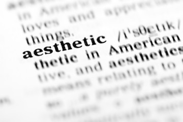 aesthetic (the dictionary project)