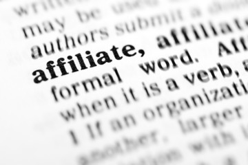 affiliate (the dictionary project)