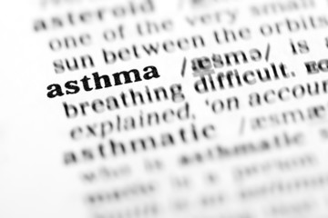 asthma  (the dictionary project)