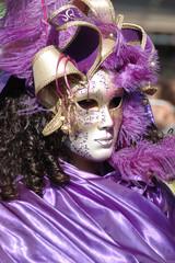 Mask at Venice carnival 2011