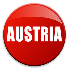 "3D effect button ""AUSTRIA"""