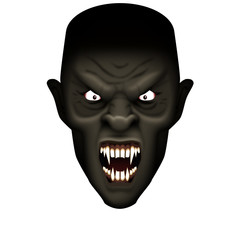 Vampire coming at ya from the dark