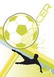 soccer poster dynamic vector poster