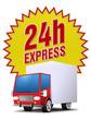 24h express service lieferung versand