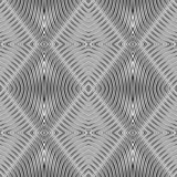Seamless geometric rhombuses pattern. poster