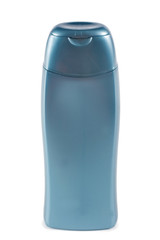 Plastic bottle isolated on a white