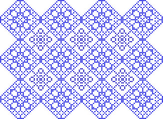 pattern to crochet - vector