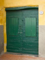 Ancient door, liguria