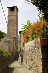vicolo con torre Vicopisano