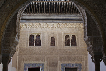 Granada, Nasrid architecture of Alhambra