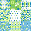 seamless patterns with fabric texture