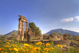 The tholos of the sanctuary of Athena Pronaia at Delphi