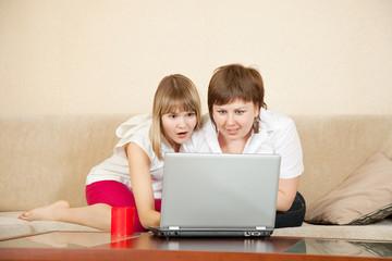 wonder women with laptop