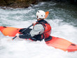 an active kayaker