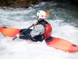 an active kayaker