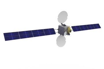 3d satellite geostationary