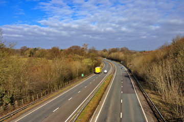 UK dual carriageway