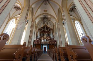 interior of dutch church