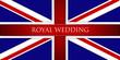 Royal Wedding England Flage