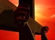The hands of Jesus Christ